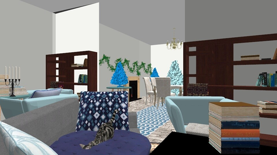 My house - Feminine - Living room - by All_the_Ravens