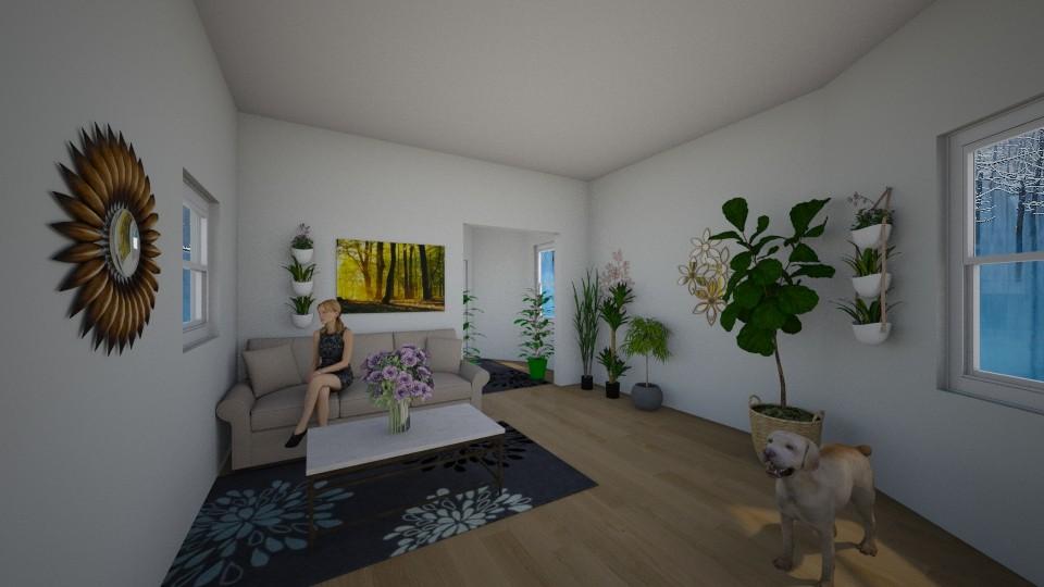 design1 - Living room - by 1g