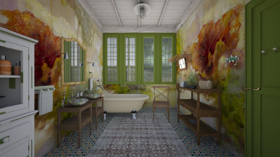 M_Weathered - Bathroom - by milyca8