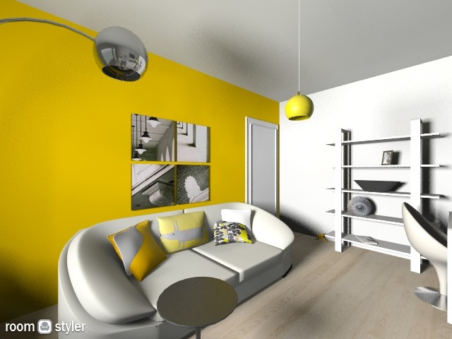 Living_yellow1 - Modern - Living room - by BUNA