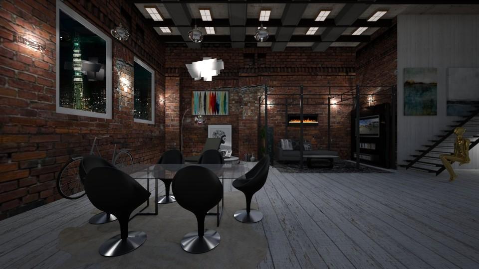 L34 - Vintage - Living room - by leo435