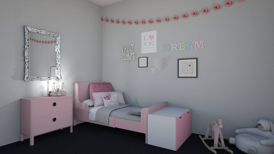little girls room - by Paris Lidgard