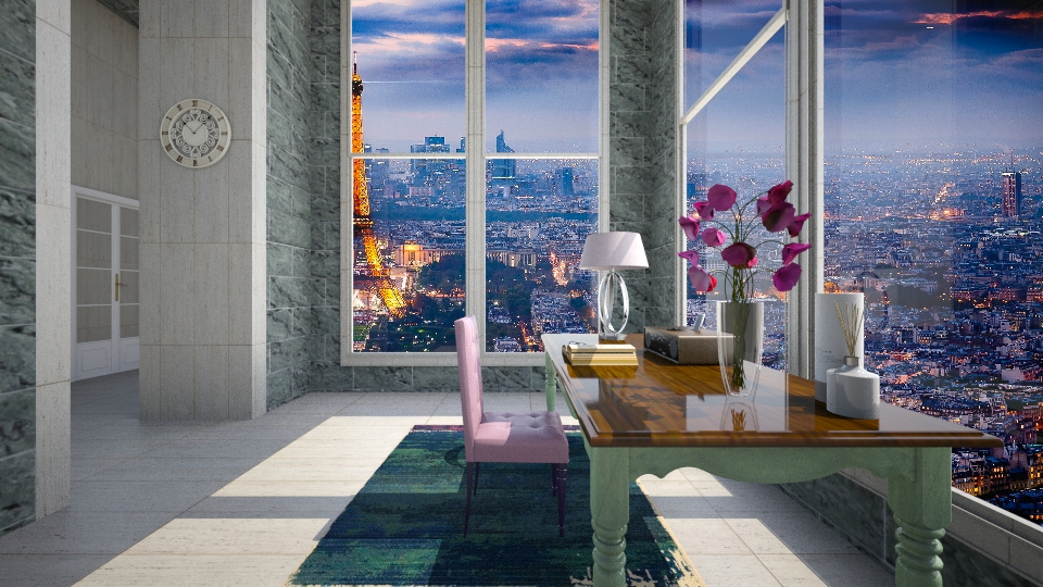 Peace in Paris - Bedroom - by Sara alwhatever