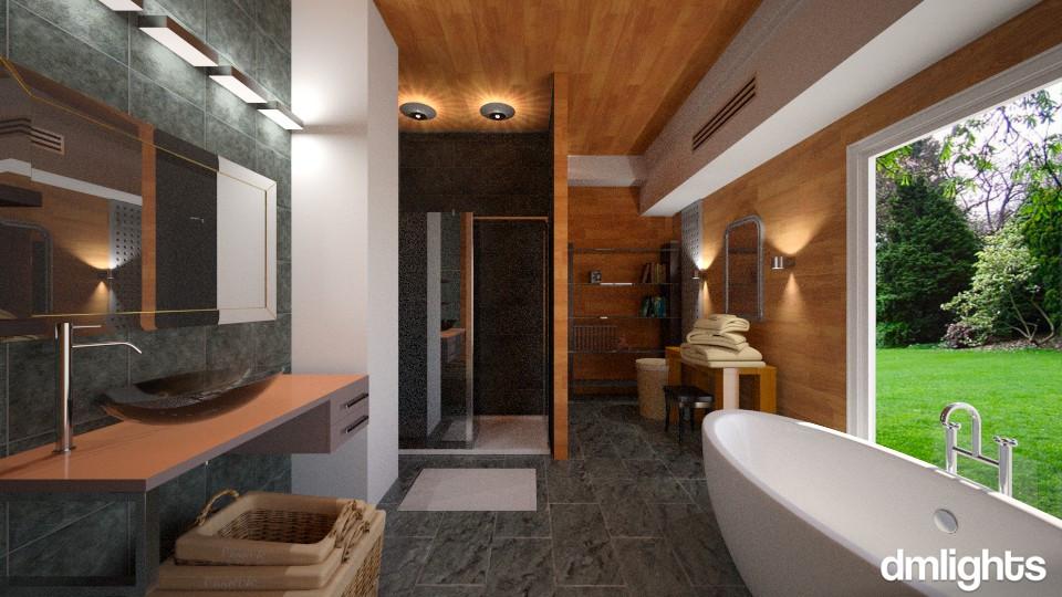 Contemporary - Bathroom - by DMLights-user-1001197