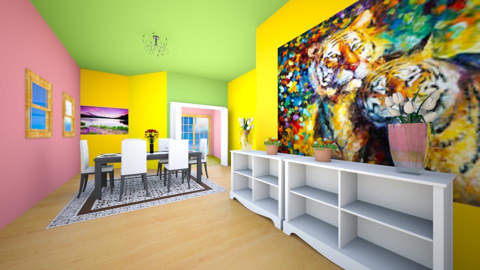 qwe - Living room - by SACHIN BARUPAL
