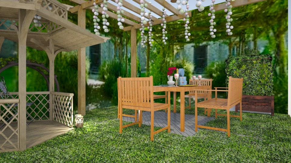garden party - Garden - by kla