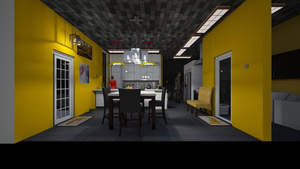 l - Kitchen - by The cartoon fan