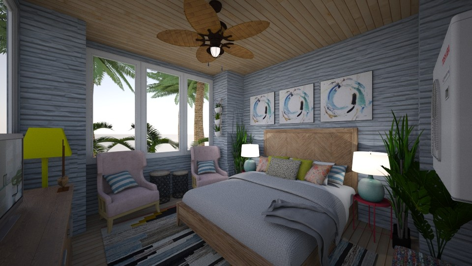 Beach Room - Bedroom - by DecoMaster5