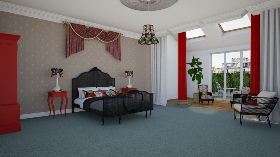 Hotel Room - by KarmaKitten