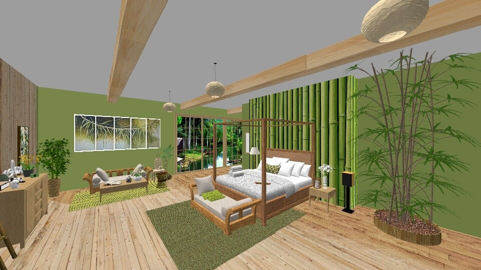 bamboo - by rousseysmith