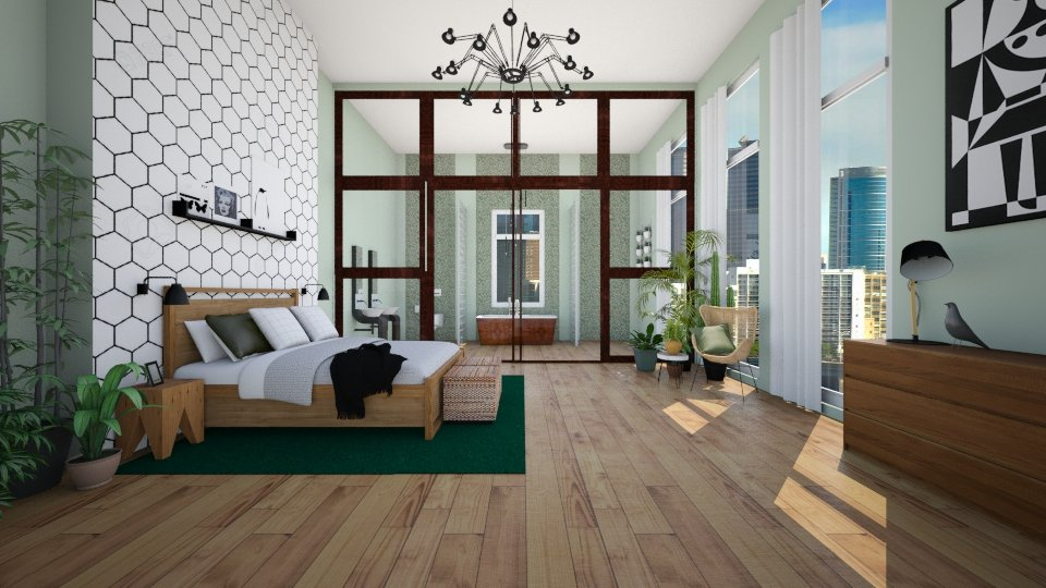 bedroom - by Irene Klinkenberg