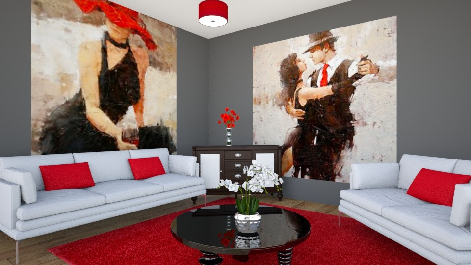 Livingroom Glamour - Living room - by Lori Hallman Douglas_763