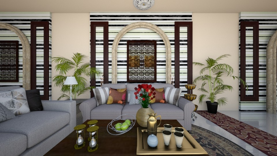 Arabian Culture - Living room - by Yemascus