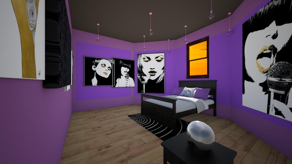 Teen room - Bedroom - by Molly_girl