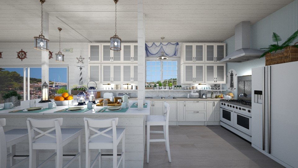 Nautical Kitchen - Kitchen - by  krc60
