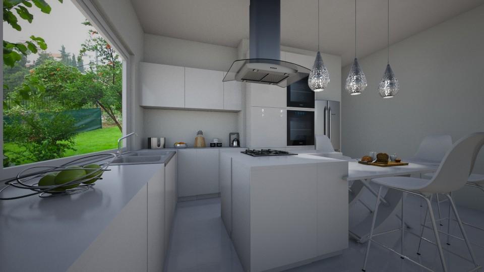 Nautical kitchen - Kitchen - by __Nikoletta__