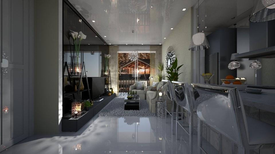 Lara - Living room - by Maria Helena_215