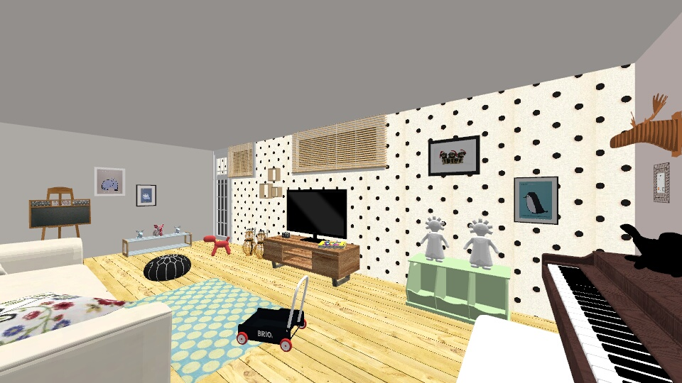 playroom - Kids room - by michalwolfson