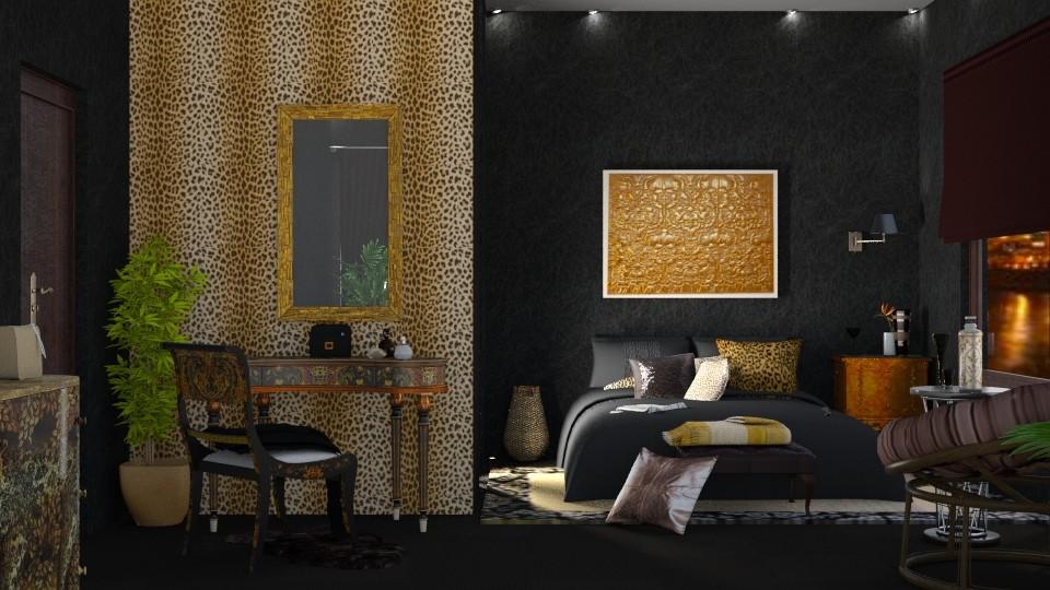 urban jungle bed - by nat mi