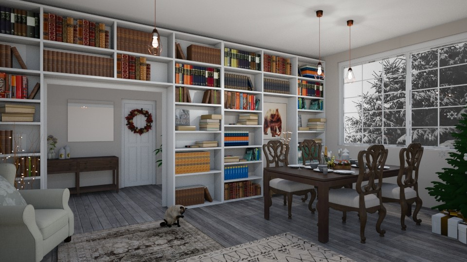 cosy  - Living room - by dorota_k