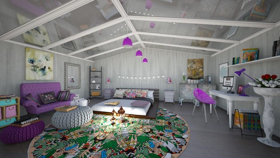 bedroom1 - Bedroom - by Kamale