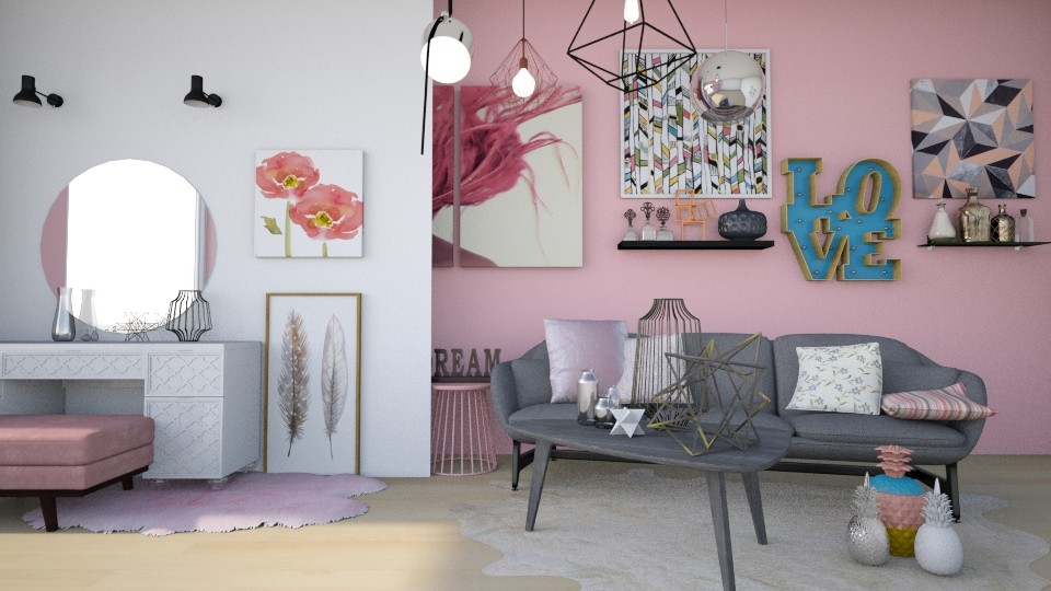 Detailed - Modern - Living room - by Noa Sardoz