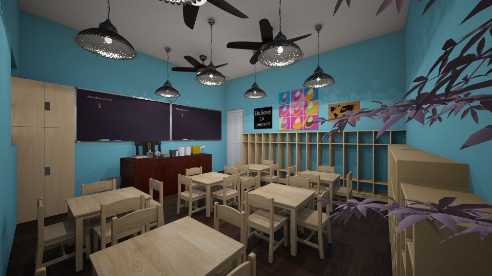 Kids Classroom - by SDFDesigns