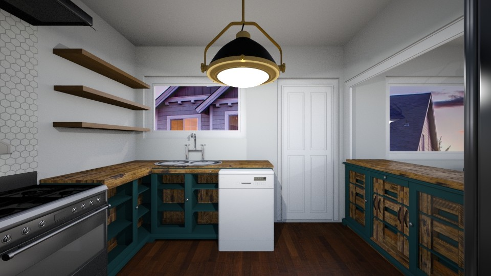 remodel K L and D - Kitchen - by Nikki Lipstick