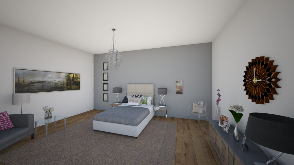 my art - Bedroom - by natalia003