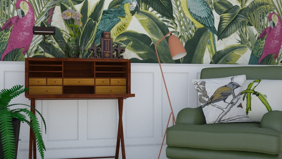 reading corner - Living room - by gloria marietti