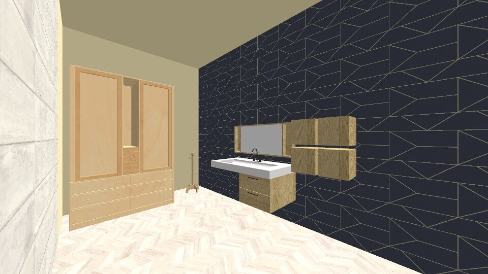 Japanese assignment 1 bed - Bedroom - by mdani91
