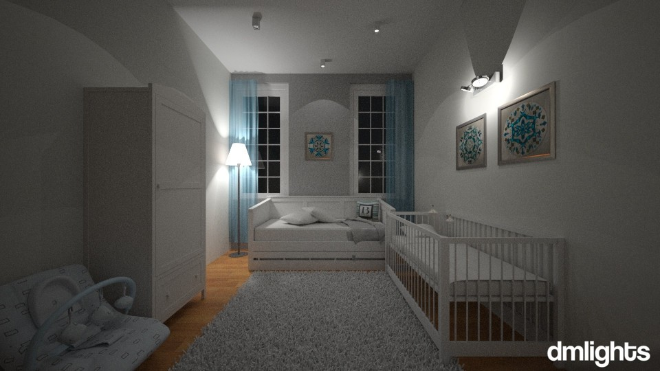 baby boy - Kids room - by DMLights-user-1229397