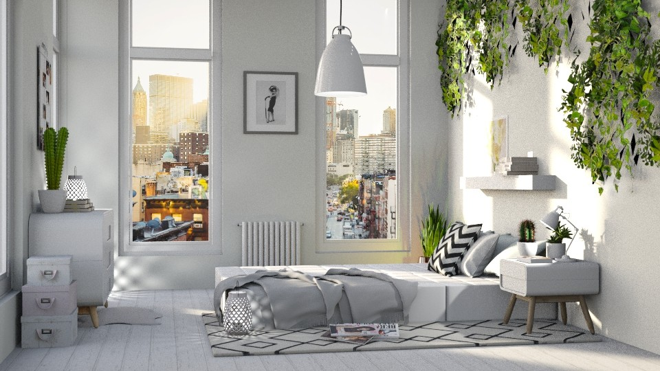 bedroom - Modern - Bedroom - by Dayanna Vazquez Sanchez