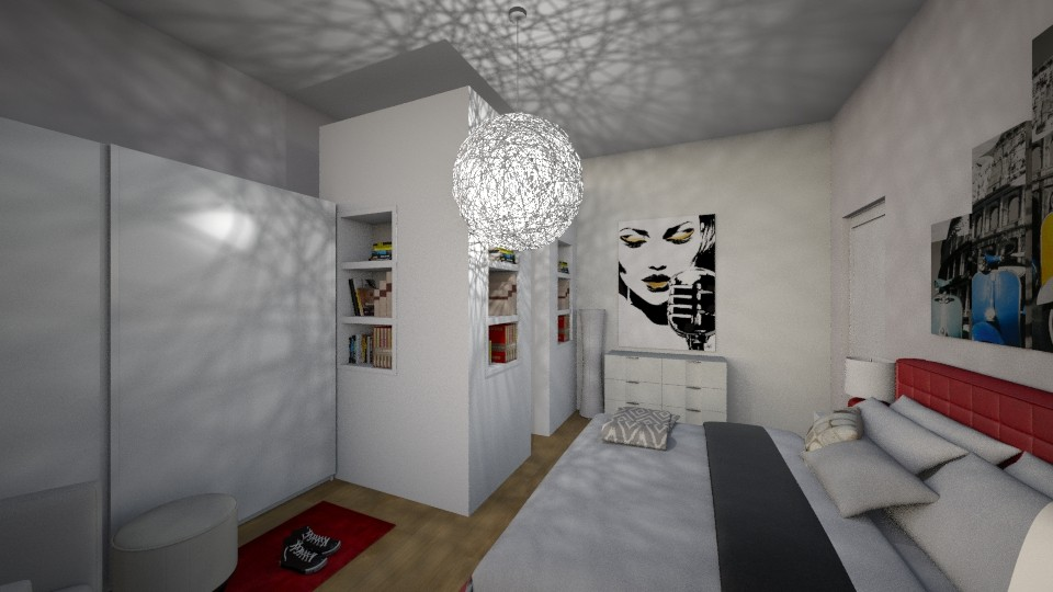 Ali room - Modern - Bedroom - by rossella63