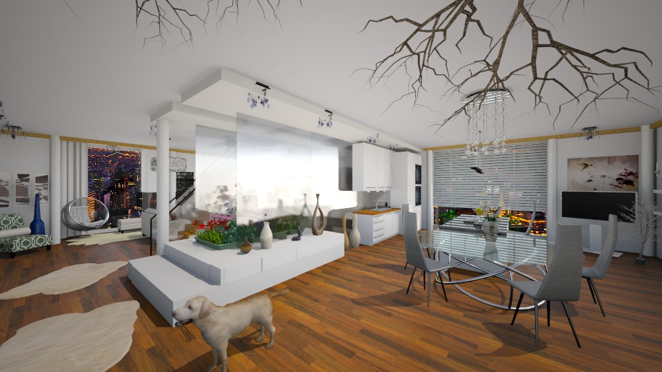 penthouse - Modern - Living room - by lamzoi