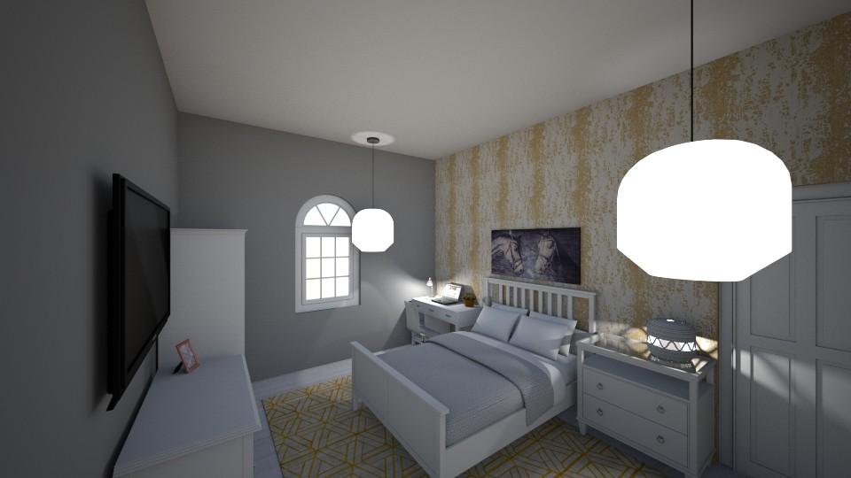 my bedroom - Bedroom - by tinyhan
