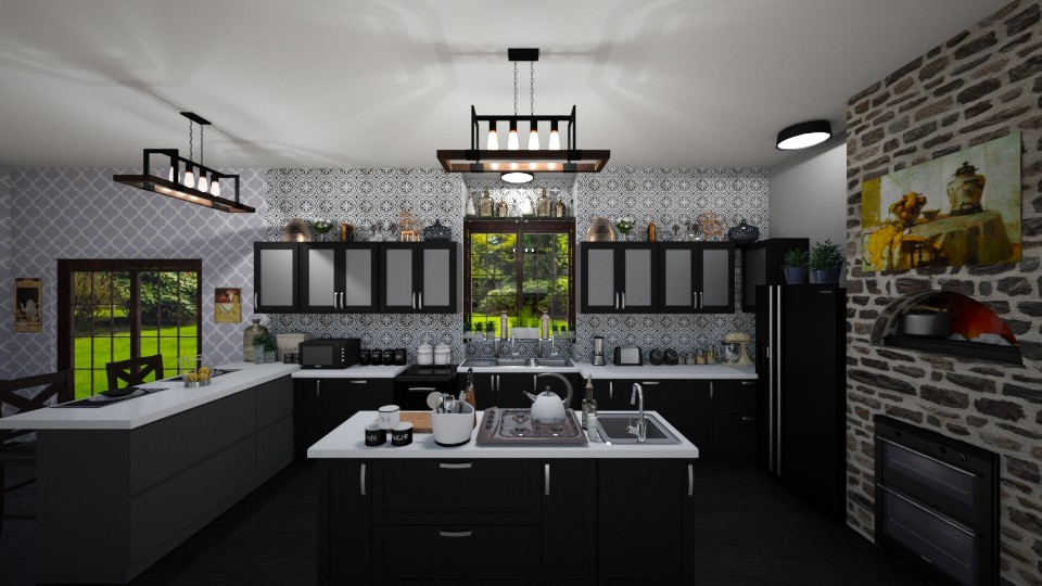 Kitchen  - Modern - Kitchen - by Kelly Carter
