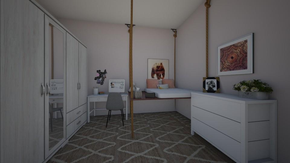 Teen Bedroom - Bedroom - by annatyler08