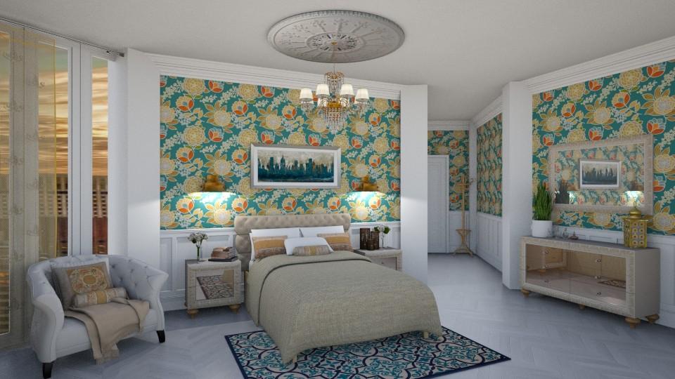 Classic hotel room - by Jean Paul Gallardo