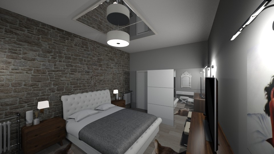 My Bedroom 3 - Vintage - Bedroom - by kostis kkkk