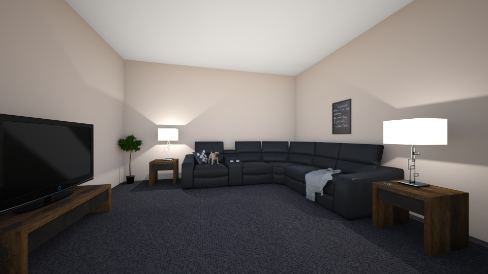final project - Living room - by 22astrunk1
