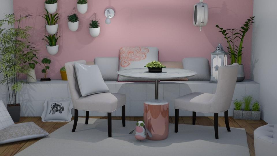 Astoria - Feminine - Dining room - by LillMiaaa