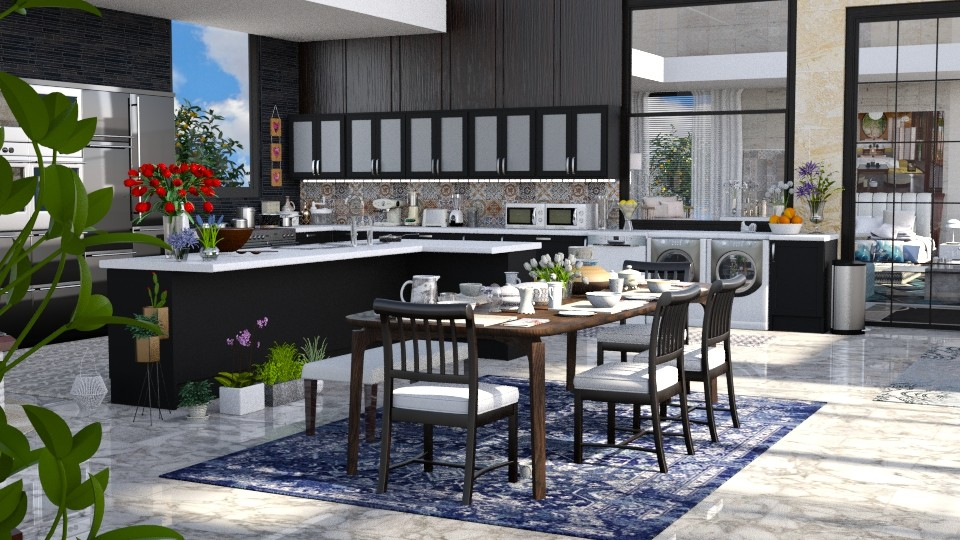 Jaya kitchen panaroma - Modern - Kitchen - by anchajaya