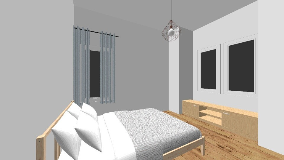 Option 2 - Minimal - Bedroom - by lucilleg