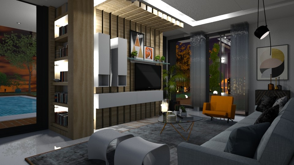 modern - Living room - by soralobo
