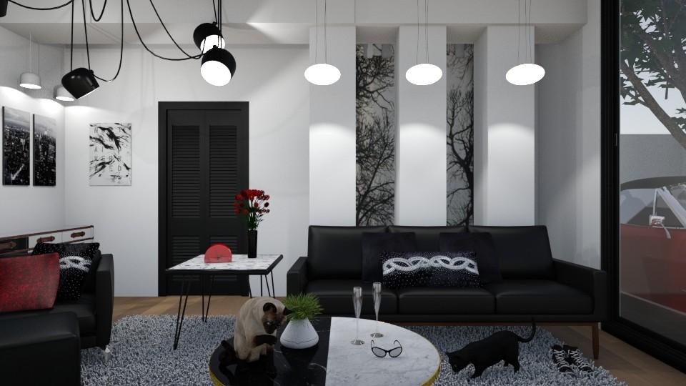 City and Car - Modern - Living room - by XiraFizade