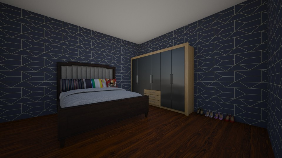 master ensuite - Glamour - Bedroom - by LuckyVicky