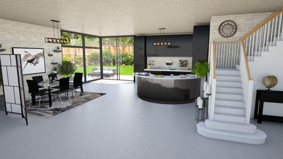 Modern Rustic Kitchen  - Kitchen - by Shelley_1