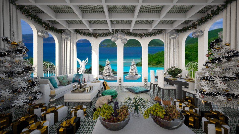 Caribbean Xmas Eve - by lydiaenderlebell
