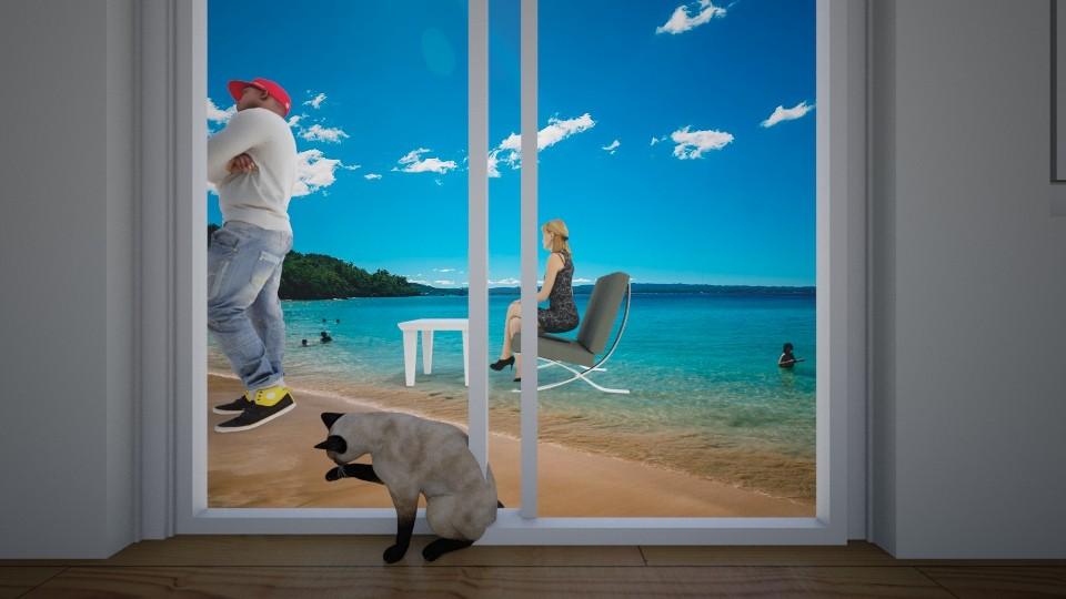tropical bar - Garden - by husky interior designs